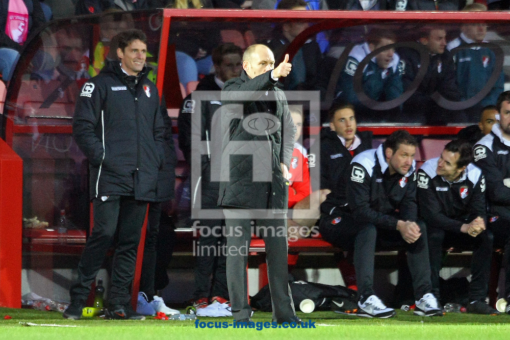 Norwich Manager Alex Neil during the match at the Goldsands Stadium, Bournemouth<br /> Picture by Paul Chesterton/Focus Images Ltd +44 7904 640267<br /> 10/01/2015
