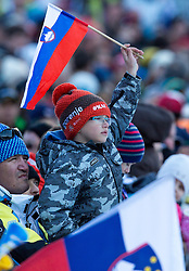 Fan during the Flying Hill Individual Competition at 2nd day of FIS Ski Jumping World Cup Finals Planica 2013, on March 22, 2012, in Planica, Slovenia. (Photo by Matic Klansek Velej / Sportida.com)