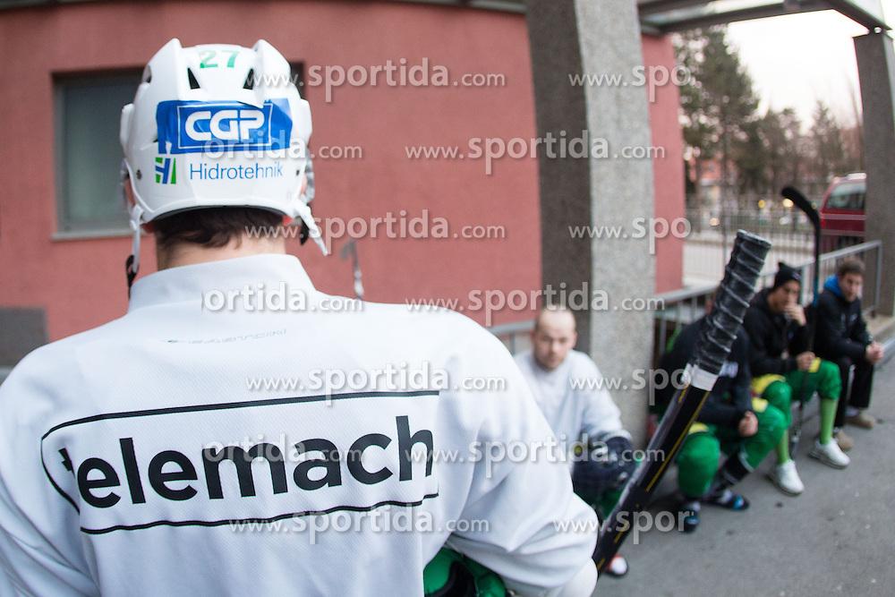 Practice session of HDD Telemach Olimpija before Telemach IceFest 2013, on January 3, 2013 at Stadium Bezigrad, Ljubljana, Slovenia. (Photo By Matic Klansek Velej / Sportida.com)
