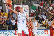 DESCRIZIONE : Ortona Italy Italia Eurobasket Women 2007 Italia Spagna Italy Spain <br /> GIOCATORE : Francesca Zara <br /> SQUADRA : Nazionale Italia Donne Femminile <br /> EVENTO : Eurobasket Women 2007 Campionati Europei Donne 2007 <br /> GARA : Italia Spagna Italy Spain <br /> DATA : 29/09/2007 <br /> CATEGORIA : Tiro Bioptron <br /> SPORT : Pallacanestro <br /> AUTORE : Agenzia Ciamillo-Castoria/S.Silvestri <br /> Galleria : Eurobasket Women 2007 <br /> Fotonotizia : Ortona Italy Italia Eurobasket Women 2007 Italia Spagna Italy Spain <br /> Predefinita :