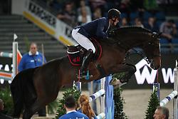 Philippaerts Olivier, (BEL), H&M Armstrong van de Kapel<br /> Prize of Raumpflege Jumping<br /> Stuttgart - German Masters 2015<br /> © Hippo Foto - Stefan Lafrentz