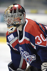 11 November 2006: Kris Tebbs.&#xD;The Elmira Jackals met the Bloomington PrairieThunder at the U.S. Cellular Coliseum in Bloomington Illinois.<br />