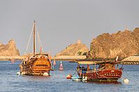 Schiffe in Muskat