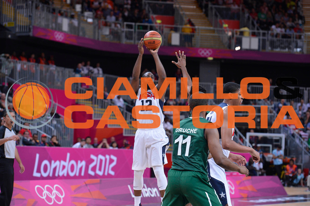 DESCRIZIONE : London Londra Olympic Games Olimpiadi 2012 Men Preliminary Round USA Nigeria<br /> GIOCATORE : James HARDEN<br /> CATEGORIA : <br /> SQUADRA : USA<br /> EVENTO : Olympic Games Olimpiadi 2012<br /> GARA : USA Nigeria<br /> DATA : 02/08/2012<br /> SPORT : Pallacanestro <br /> AUTORE : Agenzia Ciamillo-Castoria/M.Marchi<br /> Galleria : London Londra Olympic Games Olimpiadi 2012 <br /> Fotonotizia : London Londra Olympic Games Olimpiadi 2012 Men Preliminary Round USA Nigeria<br /> Predefinita :