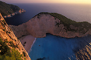 Shipwreck Bay, Zakynthos, Ionian Islands, Greece