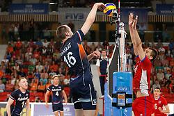 20170617 NED: FIVB Volleybal World League 2017 The Netherlands - Slovakia: Den Haag <br />Wouter Ter Maat (16) of The Netherlands, <br />&copy;2017-FotoHoogendoorn.nl / Pim Waslander