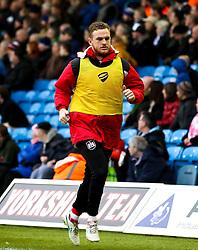 Alex Pearce of Bristol City warms up - Mandatory byline: Matt McNulty/JMP - 23/01/2016 - FOOTBALL - Elland Road - Leeds, England - Leeds United v Bristol City - Sky Bet Championship