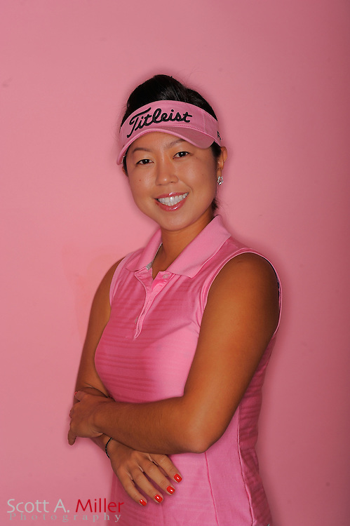 Moah Chang during a portrait session prior to the second stage of LPGA Qualifying School at the Plantation Golf and Country Club on Sept. 24, 2011 in Venice, FL...©2011 Scott A. Miller