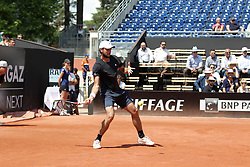 May 22, 2018 - Lyon, France - GREGOIRE BARRERE DURING THE MATCH FOR  ATP 250 IN LYON 22.05.2018 (Credit Image: © Panoramic via ZUMA Press)