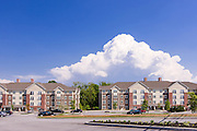 Architectural Exterior Image of the Overlook Apartments in Harrisburg Pennsylvania by Jeffrey Sauers of Commercial Photographics, Architectural Photo Artistry in Washington DC, Virginia to Florida and PA to New England