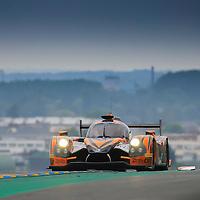 #49, Ligier JS P2 Honda, Michael Shank Racing, driven by John Pew, Ozz Negri Jr, Laurens Vanthoor, 24 Heures Du Mans Test Day, 05/06/2016,