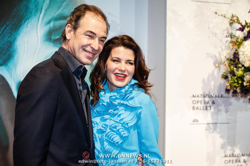 NLD//Amsterdam20160415 - Première 'Roméo et Juliette', Erik Vogel en partner Caroline de Bruin