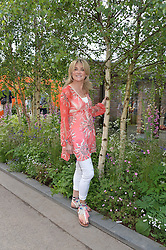 ANTHEA TURNER at the 2016 RHS Chelsea Flower Show, Royal Hospital Chelsea, London on 23rd May 2016