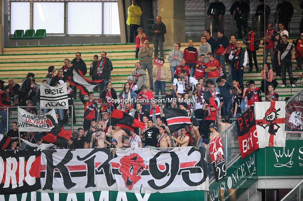 Supporters Guingamp - 23.05.2015 - Saint Etienne / Guingamp - 38e journee Ligue 1<br />Photo : Jean Paul Thomas / Icon Sport