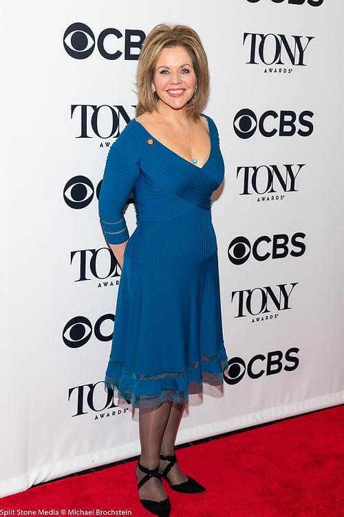 Renee Fleming, 2018 Tony Award Nominee, in New York City on May 2, 2018
