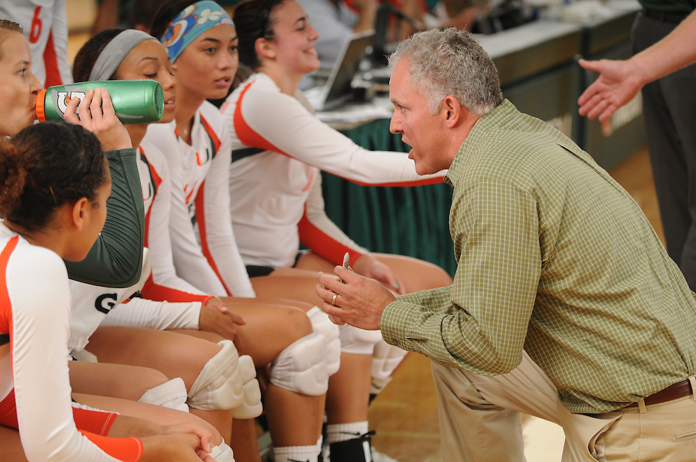2013 Miami Hurricanes Women's Volleyball vs Louisiana State