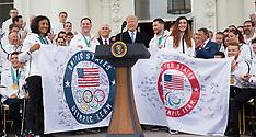President Trump hosts USA Olympic Athletes - 27 Apr 2018