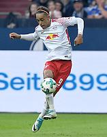 Yussuf Poulsen (Leipzig)<br /> Gelsenkirchen, 19.08.2017, Fussball Bundesliga, FC Schalke 04 - RB Leipzig 2:0<br /> <br /> Norway only