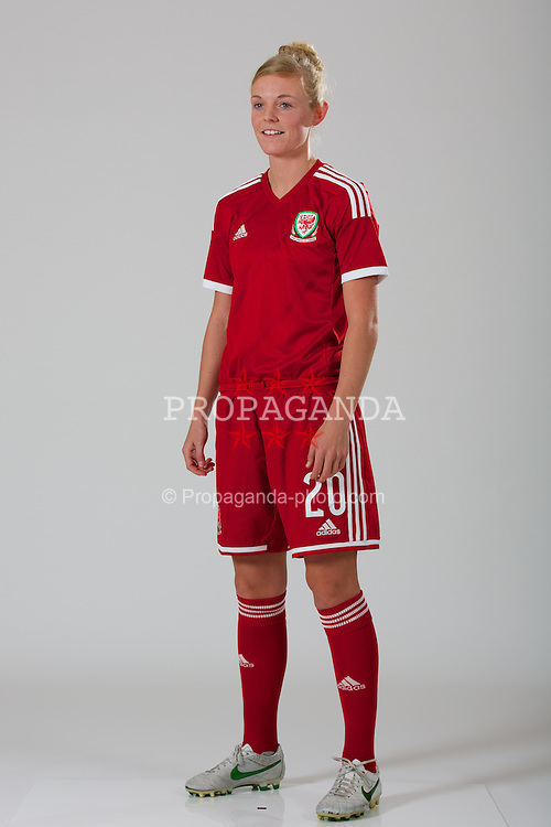 SWANSEA, WALES - Wednesday, March 5, 2014: Wales' Sophie Ingle. (Pic by David Rawcliffe/Propaganda)