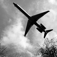 Flying Plane Overhead