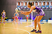 Stars Holly Fowler. ANZ Premiership Elimination final, Steel v Stars Wednesday 29 May at ILT Stadium Southland, Invercargill,  Invercargill, New Zealand.  © Copyright Photo:  Clare Toia-Bailey / www.photosport.nz