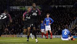 Mohamed Eisa of Peterborough United celebrates scoring his goal - Mandatory by-line: Joe Dent/JMP - 07/12/2019 - FOOTBALL - Fratton Park - Portsmouth, England - Portsmouth v Peterborough United - Sky Bet League One