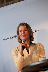 UK ENGLAND LONDON 22JUN16 - Stephanie Flanders of JP Morgan during a podium discussion hosted by Handelsblatt at the Beagle Bar & Restaurant, Hoxton, London.<br /> <br /> jre/Photo by Jiri Rezac<br /> <br /> © Jiri Rezac 2016