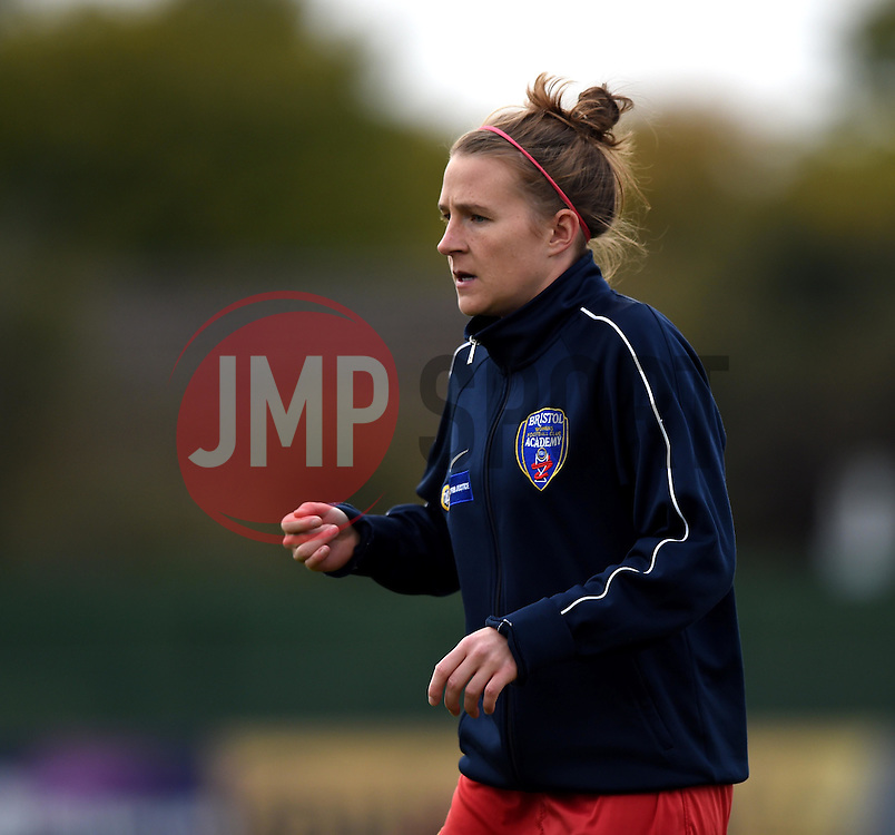 Frankie Brown of Bristol Academy Women - Mandatory by-line: Paul Knight/JMP - Mobile: 07966 386802 - 04/10/2015 -  FOOTBALL - Stoke Gifford Stadium - Bristol, England -  Bristol Academy Women v Liverpool Ladies FC - FA Women's Super League