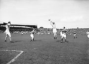 Neg No: .871/a1908-a1919...14081955AISFCSF...14.08.1955.All Ireland Senior Football Championship - Semi-Final..Kerry.2-10 Cavan.1-13...