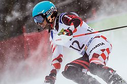 Mizdrak Damir of Croatia during Slalom race at 2019 World Para Alpine Skiing Championship, on January 23, 2019 in Kranjska Gora, Slovenia. Photo by Matic Ritonja / Sportida