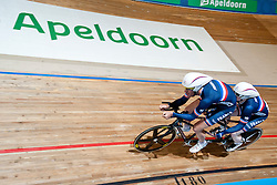 DEBEAUPUITS Damien, DHINNIN Mickael, FRA, Tandem 4km Pursuit Qualifiers , 2015 UCI Para-Cycling Track World Championships, Apeldoorn, Netherlands