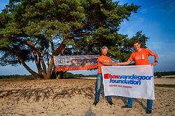 28-08-2017 NED: BvdGF goede doel Sylvestercross, Soest<br /> De Bas van de Goor Foundation is als goede doel gekoppeld aan de Sylvestercross die jaarlijks op 31 december in de Soesterduinen gelopen wordt.