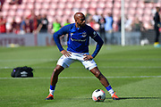 Fabian Delph (8) of Everton warming up ahead of the Premier League match between Bournemouth and Everton at the Vitality Stadium, Bournemouth, England on 15 September 2019.