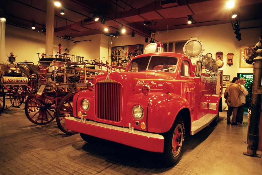 New York City Fire Museum, New York, NY.