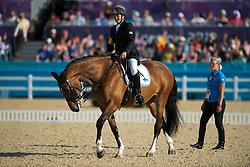 Karjalainen Katja (FIN) - Rosie<br /> Team Test - Grade Ib - Dressage <br /> London 2012 Paralympic Games<br /> © Hippo Foto - Jon Stroud