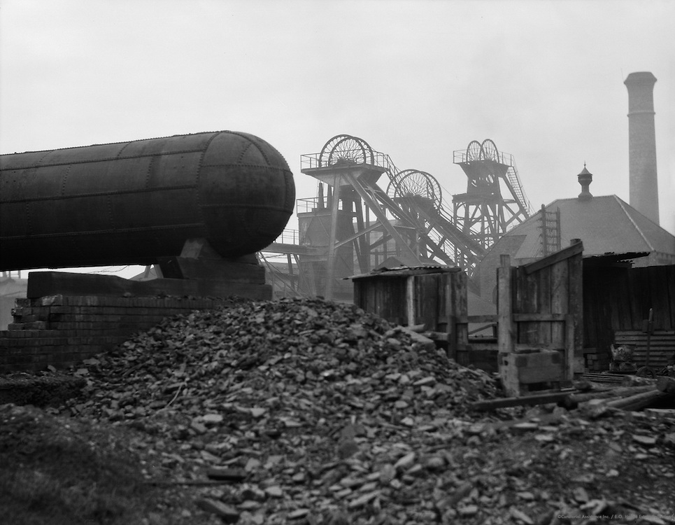 Rubble and Tank, Ashington Coal Mines, England, 1928