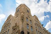 Kurfürst-Friedrich-Schule, Jugendstil, Mannheim, Baden-Württemberg, Deutschland | art nouveau building Kurfürst-Friedrich-Schule, Mannheim, Baden-Wurttemberg, Germany