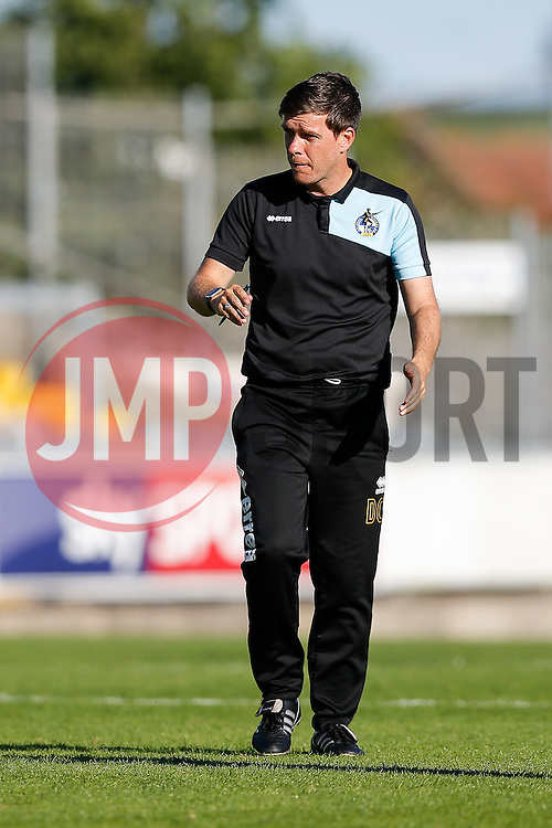 Bristol Rovers Manager Darrell Clarke looks frustrated after Accrington Stanley win the game 0-1 - Mandatory byline: Rogan Thomson/JMP - 07966 386802 - 12/09/2015 - FOOTBALL - Memorial Stadium - Bristol, England - Bristol Rovers v Accrington Stanley - Sky Bet League 2.
