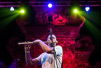Markandeya performing at the Bali Spirit Festival, Ubud, Bali, Indonesia, 3/4/2015.