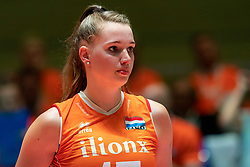 30-05-2019 NED: Volleyball Nations League Netherlands - Poland, Apeldoorn<br /> Nicole Oude Luttikhuis #17 of Netherlands