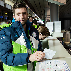 20180206: SLO, Olympics - Departure of Slovenian Olympic team to PyeongChang