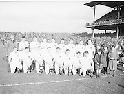 Neg No:.719/9756-9761...17031955IPFCF...17.03.1955..Interprovincial Railway Cup Football - Final..Leinster.1-14.Connacht.1-10..Connacht Team