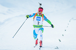Mitja Drinovec during Slovenian National Cup in Biathlon, on December 30, 2017 in Rudno polje, Pokljuka, Slovenia. Photo by Ziga Zupan / Sportida