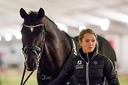Fry Charlotte, GBR, Dark Legend<br /> Jumping Mechelen 2019<br /> © Hippo Foto - Sharon Vandeput<br /> 27/12/19