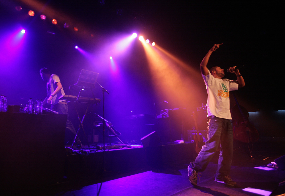Pete Philly & Perquisite performing in De Oosterpoort, Groningen.