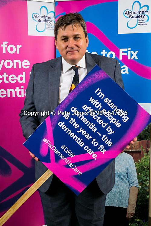 """Kit Malthouse MP:<br /> Alzheimer's Society;<br /> """"Fix Dementia Care & State of the Nation""""<br /> Parliamentary report Launch;<br /> Houses of Parliament, Westminster.<br /> 23rd May 2018.<br /> <br /> © Pete Jones<br /> pete@pjproductions.co.uk"""