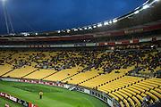 General View of the Westpac Stadium during the Hyundai A-League, Wellington Phoenix vs Central Coast Mariners, Westpac Stadium, Wellington, Saturday 14th January 2017. Copyright Photo: Raghavan Venugopal / www.photosport.nz
