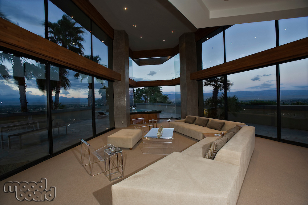 Luxury interior design lounge room