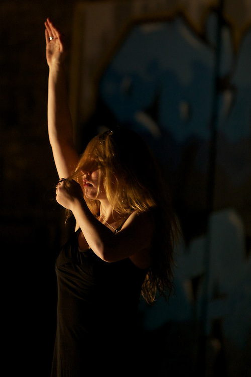 Bouge D'ici, a collection of five contemporary dance pieces performed at New City gas in Griffintown Montreal as part of the Corridor Culturel at Nuit Blanche. Bouge D'ici is produced by Amy Blackmore.
