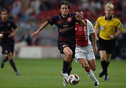 04-08-2007 VOETBAL: LG AMSTERDAM TOURNAMENT: AJAX - ARSENAL: AMSTERDAM<br /> Ajax verliest met 1-0 van Arsenal / Tomas Rosicky<br /> &copy;2007-WWW.FOTOHOOGENDOORN.NL